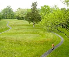 Great Serpent Mound..Adams County's most famous landmark, Great Serpent Mound, can seem to be playing hard-to-get. On a ridge above Ohio Brush Creek, a 1,330-foot earthwork snake uncoils in grassy, dandelion-speckled loops.   A viewing tower will give you the best overview of the site, generally considered the world's largest single effigy mound.