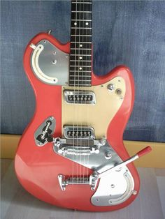 1963 Meazzi Jupiter #electric #guitar - - - what does she sound like!