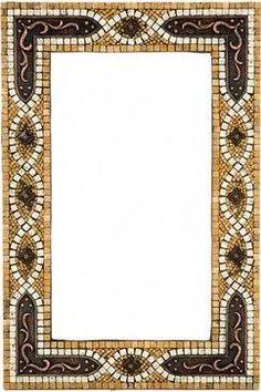Stone mosaic mirror frame with Mosaic Artwork, Mosaic Wall Art, Mirror Mosaic, Mosaic Flower Pots, Mosaic Pots, Mosaic Glass, Fused Glass, Stained Glass, Bathroom Mirrors Diy