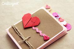 Album scrapbook de Amor y amistad