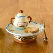 Limoges Breakfast With Honey Pot