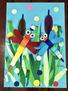 Insects Inspired Spring Craft Idea The Effective Pictures We Offer You About Spring Crafts For Kids easter A quality picture can tell you many things. Kids Crafts, Spring Crafts For Kids, Summer Crafts, Art For Kids, Cool Diy Projects, Projects For Kids, Art Projects, Kindergarten Art, Preschool Crafts