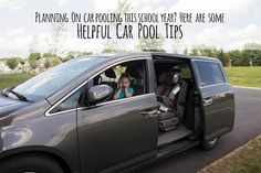 Great tips if you are thinking about carpooling this school year. #sponsored