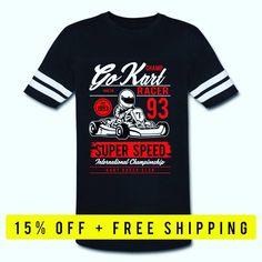 GO KART RACER TEE 💕 Go Kart Racer, Tees, Funny, Mens Tops, T Shirt, Fashion, Supreme T Shirt, Moda, Chemises