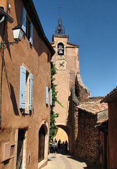 Beffroi de Roussillon, Provence, France