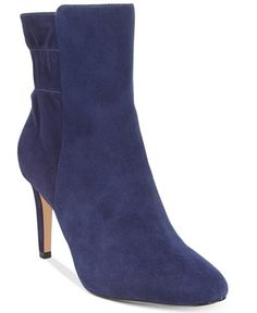 Nine West Herenow Ruched-Back Booties