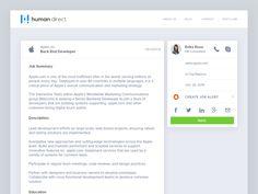 Job Post — UI by Raul Perțe