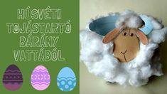 Húsvéti tojástartó bárány vattából Teddy Bear, Christmas Ornaments, Toys, Holiday Decor, Youtube, Activity Toys, Christmas Jewelry, Clearance Toys, Teddy Bears