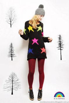 Moda tejidos invierno 2013 De las bolivianas