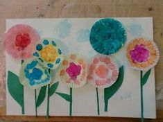 Spring art projects for kids ideas cupcake liners 52 ideas for 2019 Spring Art Projects, Spring Crafts, Projects For Kids, Crafts For Kids, Arts And Crafts, Cupcake Liner Crafts, Cupcake Liner Flowers, Cupcake Liners, Cupcake Wrappers