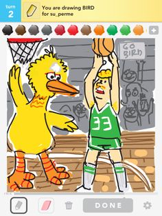 #DrawSomething...Even if you aren't as skilled a drawer as what is shown in this photo, it's still worth a try. You will be surprised at what you create!