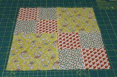 TBT - Double 4-Patch | Petals and Pins - Tutorial by Penny Rose Fabrics