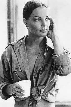Romy Schneider style is so effortless and yet so chic