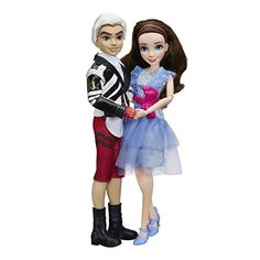 Disney Descendants Two-Pack Jane Auradon Prep and Carlos Isle of the Lost - Most Wanted Christmas Toys