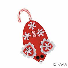 Winter Mouse Candy Cane Craft Kit  $9.25 Makes 24
