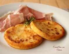 Gallette di patate con prosciutto