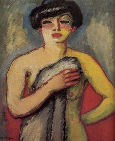 Portrait de Fernande Olivier, Kees van Dongen, (1877-1965), 1905
