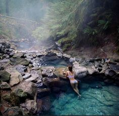 For Real: These Insanely Stunning Hot Springs Are Not Photoshopped We've rounded up a collection of natural hot springs so majestic you won't believe your eyes. Come plan your next trip. Vacation Places, Dream Vacations, Vacation Spots, Places To Travel, Travel Destinations, Oregon Travel, California Travel, Travel Oklahoma, Zion National Park