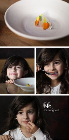 Four-Year-Old Reviews Plum Restaurant (with her face) - The Bold Italic - San Francisco