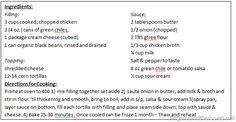 freezer cooking {part 5}:  Chicken Cacciatore, Pepper Steak, Taco Soup, Baked Green Chili Enchiladas, Goulash, Roast