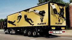 Funny 3D Truck Ad Designs
