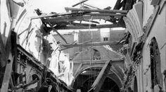 La Guerra Civil en País VascoInterior de la Iglesia de San Sebastián destruida por una bomba en un vuelo nocturno en 1938   ARCHIVO ABC