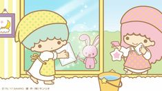 Little Twin Stars Sanrio Characters, Cute Characters, Fictional Characters, Little Twin Stars, Little Star, Star Banner, Star Cloud, My Melody, Animals And Pets