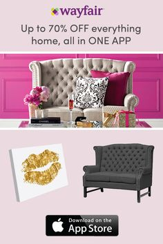 Download the Wayfair app to confidently shop on the go! Our exclusive View in Room feature allows you to see styles directly in home before you purchase. Unlock access to exclusive sales, daily deals, and FREE shipping over $49 with the Wayfair app. And as always, enjoy up to 70% OFF, every day!