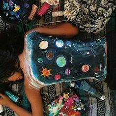 Pinturas en la espalda <3