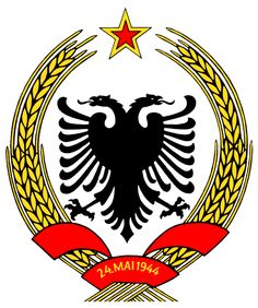 Coats of Arms of Communist States - Coat of arms of the People's Republic of Albania
