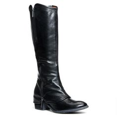 Back for another season! Make a bold fashion statement this fall with the popular style of the DEVI.The detailed overlay design offers a unique look to this stand-out boot. full side zipper offers easy foot access while the top elastic insert offers fit. The full leather lining and footbed will surround your feet in unmatched comfort.<br /><ul><li>Soft baby calf leather upper</li><li>2 inch stacked heel</li><li>15 inch shaft height</li><li>Wide shaft</li><li>Imported</li></ul>