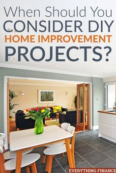 Thinking about making a list of DIY home improvement projects? Here's what to consider to ensure things go smoothly. Home Improvement Grants, Home Improvement Projects, Home Renovation, Home Remodeling, Diy Design, Kitchen Sink Interior, Home Repairs, Trendy Home, Diy On A Budget