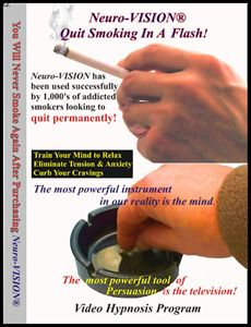"""Neuro-VISION """"Quit Smoking In A Flash!"""""""