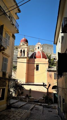 Corfu old town. by spyros pat. Corfu Island, Corfu Greece, Acropolis, Ancient Greece, Old Town, Mythology, Greek, Hero, History