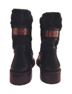 Chanel Gusset Ankle Boots <3