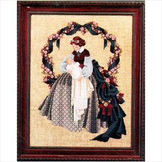 Sweet Dreams - Lavender & Lace Victorian Designs - Cross Stitch Chart - Baby 768205000149 on eBid United States