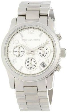 Michael Kors Watches Silver Chronograph Runway (Silver)  - Ordered and waiting for arrival ! cant wait