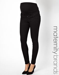 New Look Maternity Supersoft Over The Bump Skinny Jean