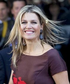 """Queen Maxima attends network meeting """"Guts and Glory"""" 15/4/2015"""