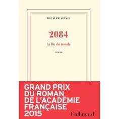 2084 ; excellent roman, belle réflexion sur le poids des religions et sur notre résistance à l'obéissance. Récit très fin, très malin, très complet à lire, effectivement avant de mourir
