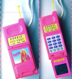 Barbie Super Talking Flip Phone - Totally Awesome 90's Tech Toys