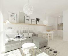 Farklı alternatiflerle dolu dekorasyonlara sahip açık plan yaşam alanlarından bir derleme.