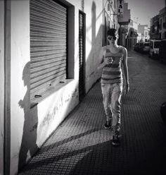 Luisón: Street Photography in BW. Ayamonte. July 2014