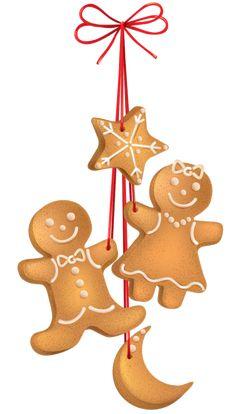 CHRISTMAS GINGERBREAD COOKIES *