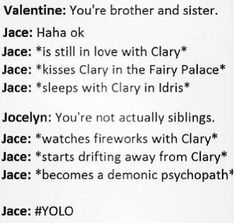 Clace :') they perf