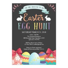 Easter Egg Hunt Invitations Easter Egg Hunt Invitation, Egg Hunt Invite