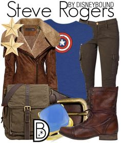 Steve Rogers Disneybound - I need this in my life. He is my favourite Disney character of all time, and I must have this outfit!