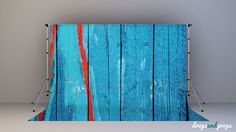 Blue  Red Wood  Photography Backdrop by DropsProps on Etsy, $25.00