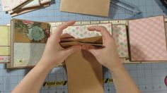 Paper Bag/ Envelope Mini Album Share   Garden Party  