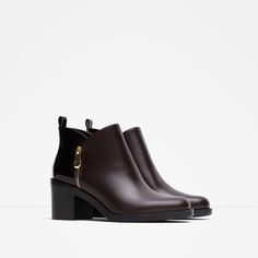 COMBINED ANKLE BOOTS-Ankle boots-Shoes-WOMAN | ZARA Morocco